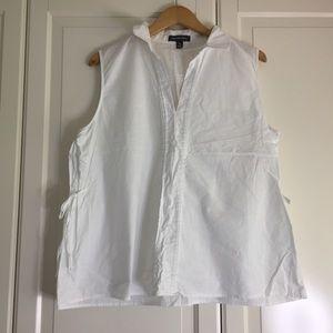🔥2 for $40🔥 Alexander Jordan White Cotton Blouse